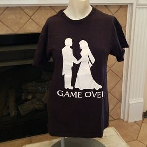 🎈3 for $15🎈FUNNY DIVORCE GAME OVER TEE